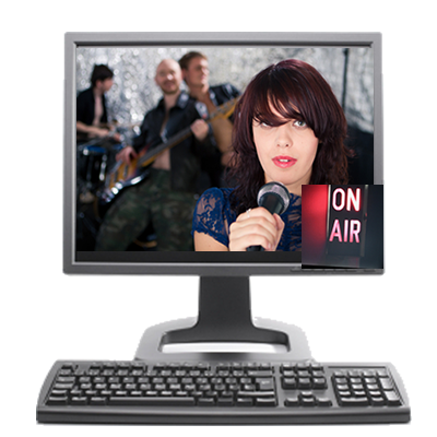 live internet broadcasting for any show or event