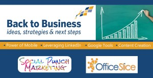 SEMINAR: Back to Business Morning @ OfficeSlice Coworking | Los Angeles | California | United States