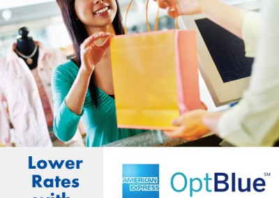 Lower Rates with AMEX OptBlue