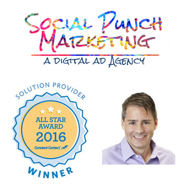 Social Punch Marketing, Earns 2016 Constant Contact Solution Provider All Star Award