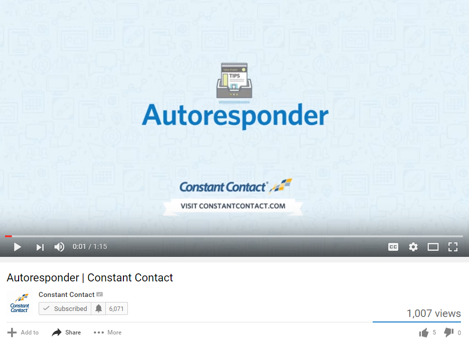 Automate Your Email Marketing with Constant Contact's Autoresponder Series
