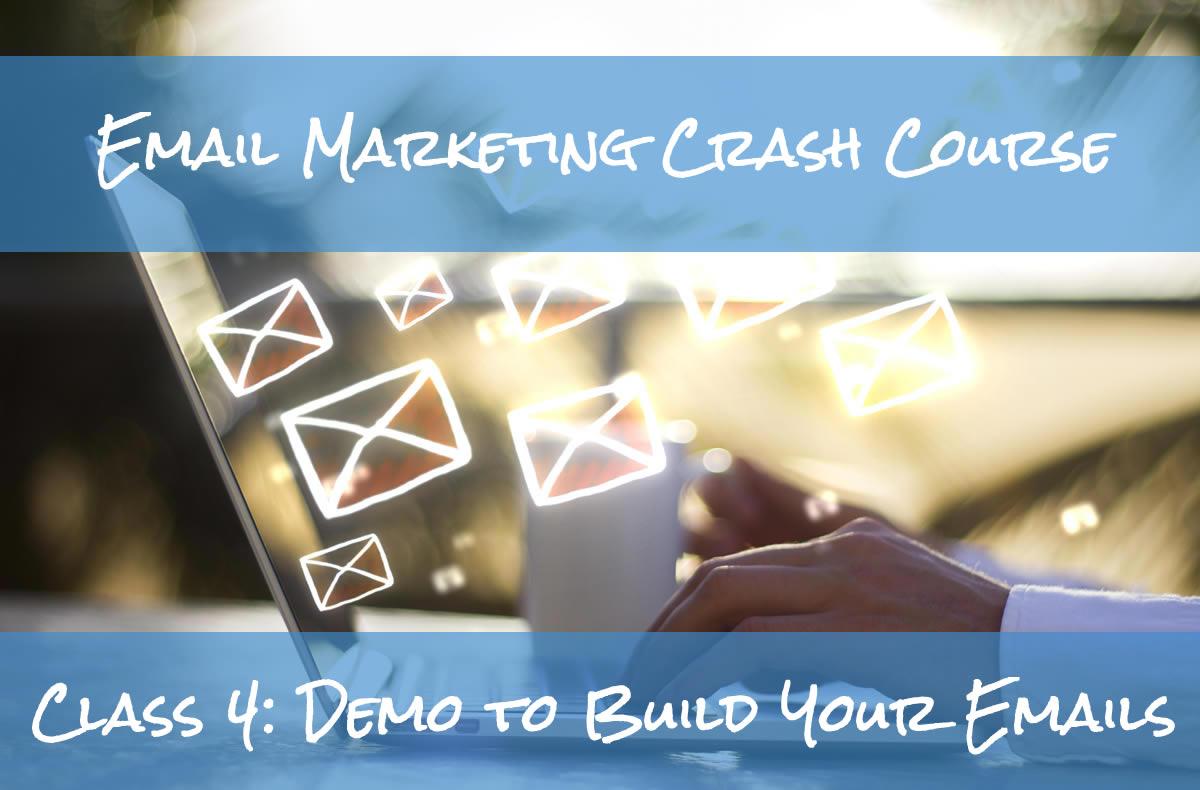 Email Marketing Crash Course Demo Build