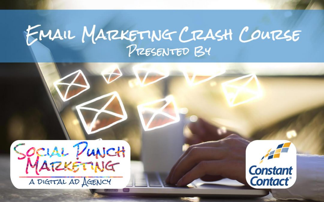 Email Marketing Crash Course – June 12 through June 23 – Available Online After Each Session
