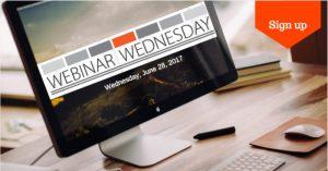 Webinar Wednesday Returns! @ Online Webinars