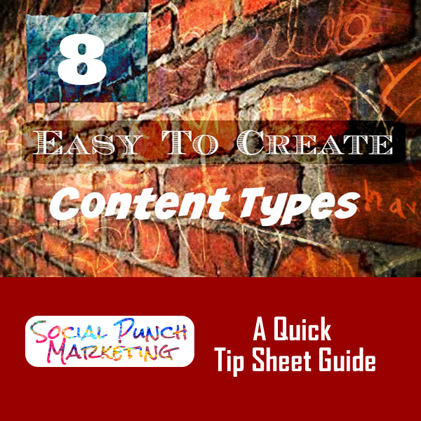 8 Easy to Create Content Types for Online Marketing